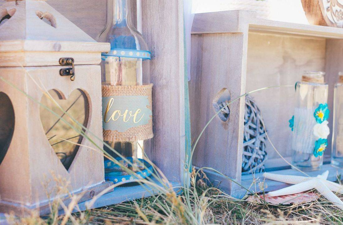Ideas for beach wedding decor
