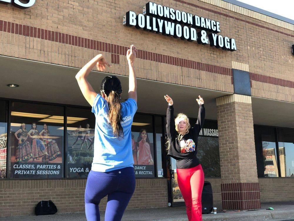 bollywood dance studio