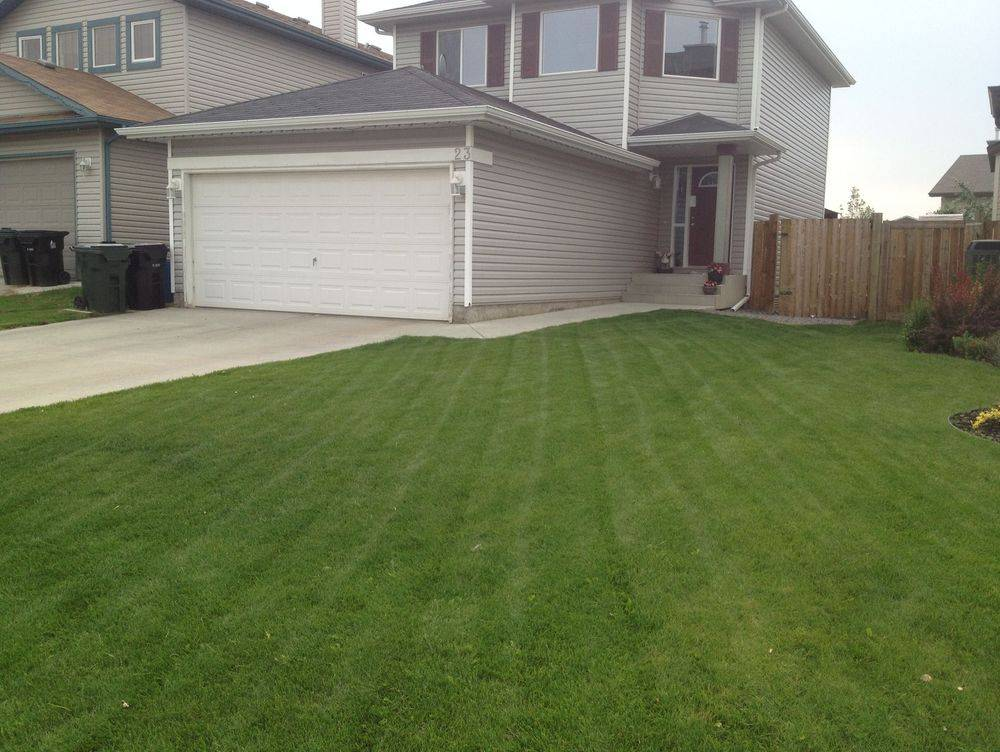 lawn care spruce grove