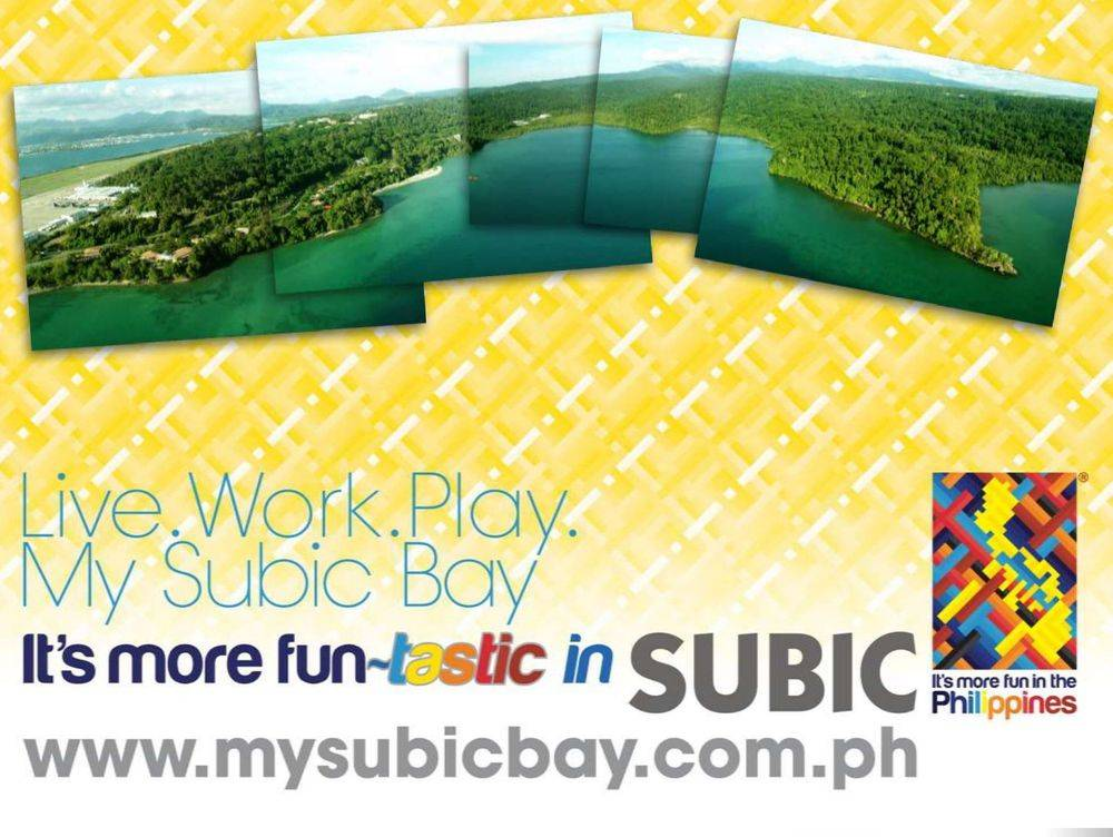 live work play my subic bay, its more fun in the philippines, subic beauty salons & treatments, subic spas & gyms , subic nightlife: casinos, videoke bars, music lounges, nightspots, live bands, chill-outs, subic dining and shopping, remy field sports complex, subic waterfront road, hellship ( oryoku maru) memorial, boardwalk park, bicentennial park or volunteers' park, subic bay metropolitan authority flagpole, subic volunteers monument, children of the sun returning, inang laya subic, san roque chapel, spanish gate: a remnant of the spanish naval station, sun sea sand at subic, bird-watching: a must-try at subic bay, triboa mangrove park, pamulaklakin forest trails , magaul bird park at jest camp , jest camp adventure and bird park , discover the aetas' indigenous culture , british & far east traders & partners, subic bay freeport zone philippines, invest in the philippines, holy land subic sanctuary and theme park, ocean adventure- southeast asia's only open water marine park, treetop adventure: the world's first motorized canopy tour, zoobic safari, funtastic park subic bay, subic bay ecotourism, apaliin forest trails