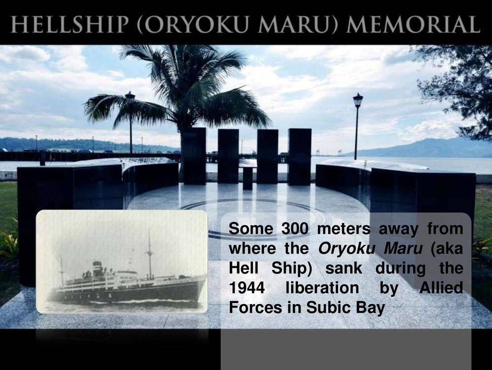 hellship ( oryoku maru) memorial, boardwalk park, bicentennial park or volunteers' park, subic bay metropolitan authority flagpole, subic volunteers monument, children of the sun returning, inang laya subic, san roque chapel, spanish gate: a remnant of the spanish naval station, sun sea sand at subic, bird-watching: a must-try at subic bay, triboa mangrove park, pamulaklakin forest trails , magaul bird park at jest camp , jest camp adventure and bird park , discover the aetas' indigenous culture , british & far east traders & partners, subic bay freeport zone philippines, invest in the philippines, holy land subic sanctuary and theme park, ocean adventure- southeast asia's only open water marine park, treetop adventure: the world's first motorized canopy tour, zoobic safari, funtastic park subic bay, subic bay ecotourism, apaliin forest trails