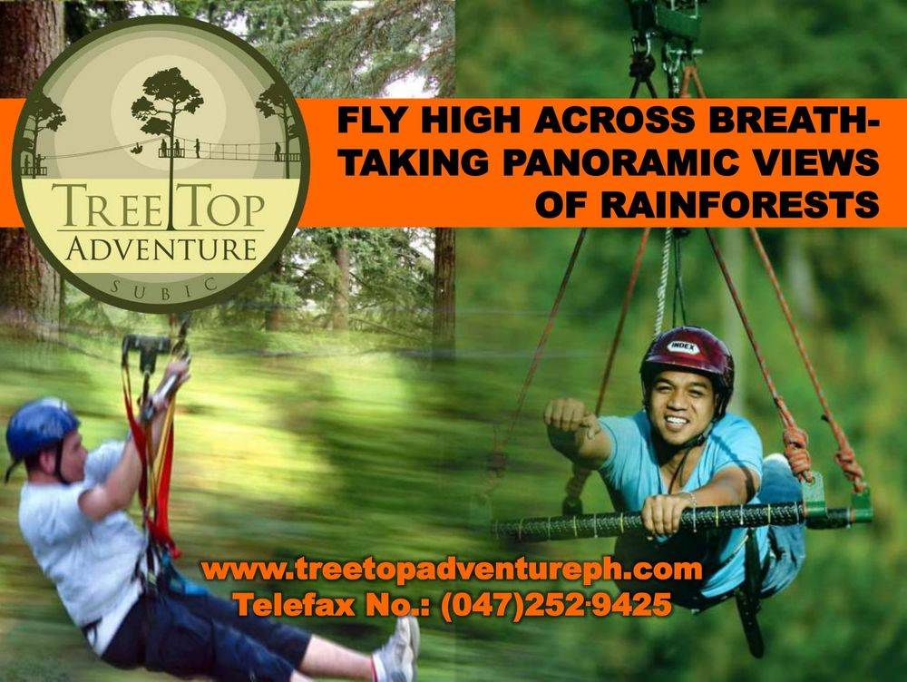 british & far east traders & partners, subic bay freeport zone philippines, invest in the philippines, holy land subic sanctuary and theme park, ocean adventure- southeast asia's only open water marine park, treetop adventure: the world's first motorized canopy tour