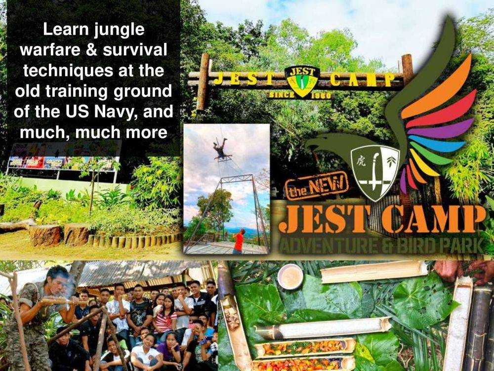 jest camp adventure and bird park , discover the aetas' indigenous culture , british & far east traders & partners, subic bay freeport zone philippines, invest in the philippines, holy land subic sanctuary and theme park, ocean adventure- southeast asia's only open water marine park, treetop adventure: the world's first motorized canopy tour, zoobic safari, funtastic park subic bay, subic bay ecotourism, apaliin forest trails