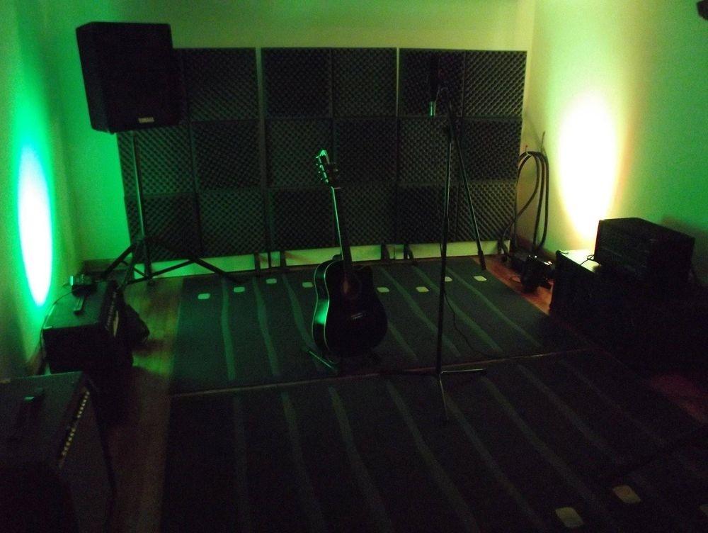 Music Studio Green Room