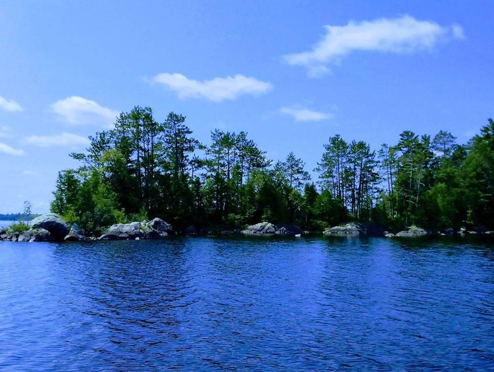Five White Rocks Island, on Lake Michigamme, Photography by TamaraLeeNiemi, AquariusArtVentures.net.
