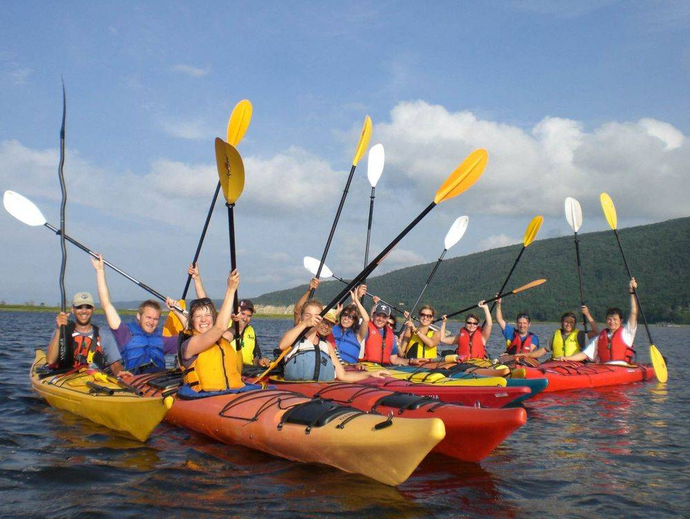 kayak rentals cabot trail, family kayaking, sea kayak tours