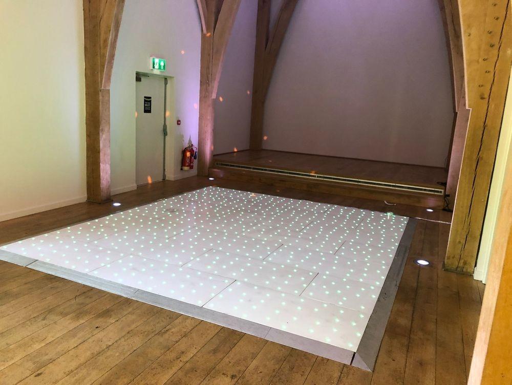 LED Dancefloor Hire @ The Mill Barns Wedding Venue