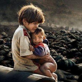 Children At a Dumpsite