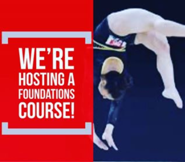 Gymnastics in Victoria and Saanich, Qualified Coaches, Foundations Course for Coaches