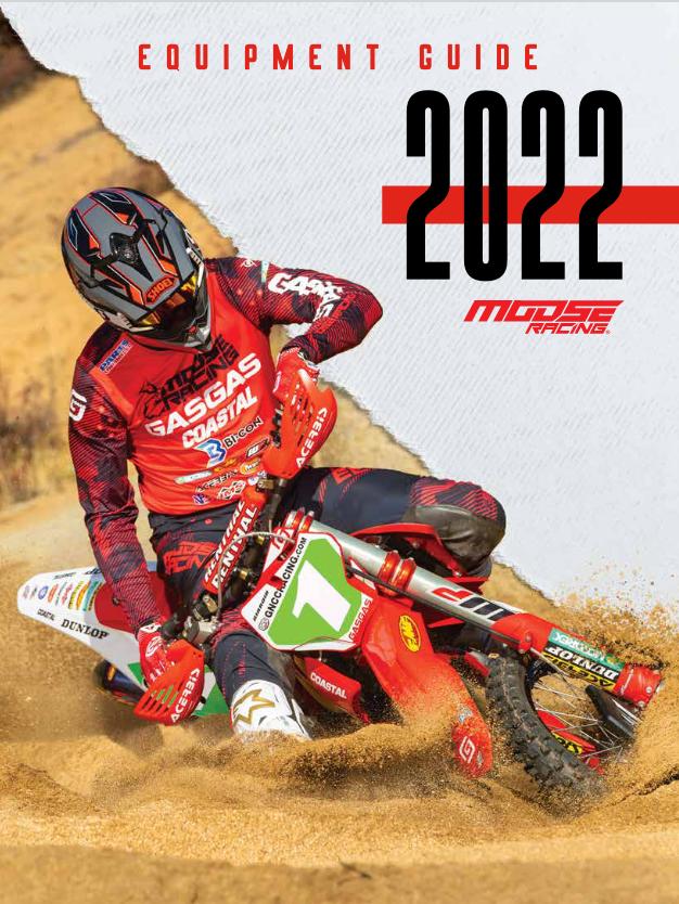 Motocross Rider racing through desert