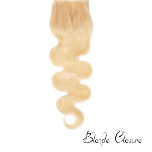Blonde hair bundle