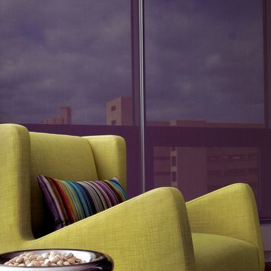 Hunter Douglas Designer Screen Shades help protect your furnishings from fading caused by UV light.