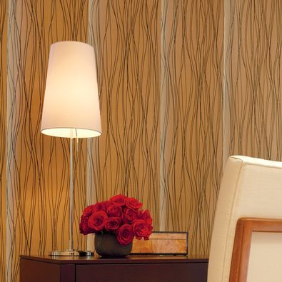 For a dramatic statement, decorate with Hunter Douglas Skyline Gliding Window Panels in a textured fabric.