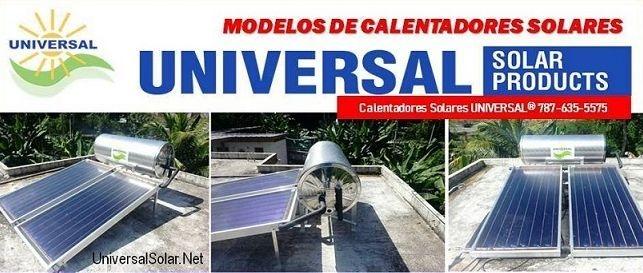Modelos Calentadores Solares 787-635-5575
