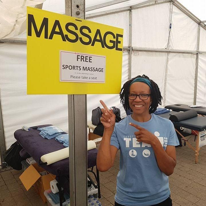event sports-massage Ironman UK 2018