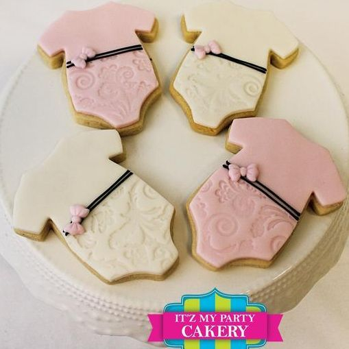 Onsie Embossed Baby Cookies Milwaukee
