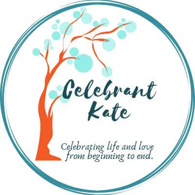 Celebrant Kate wedding, funeral and baby naming celebrant
