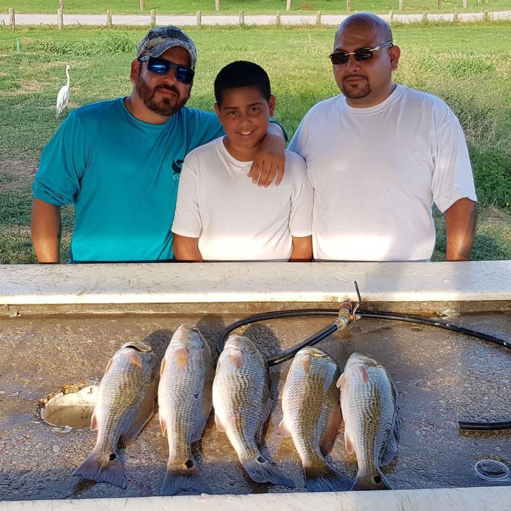 San Antonio Fishing Charters Trips'  Calaveras Lake Fishing Guides
