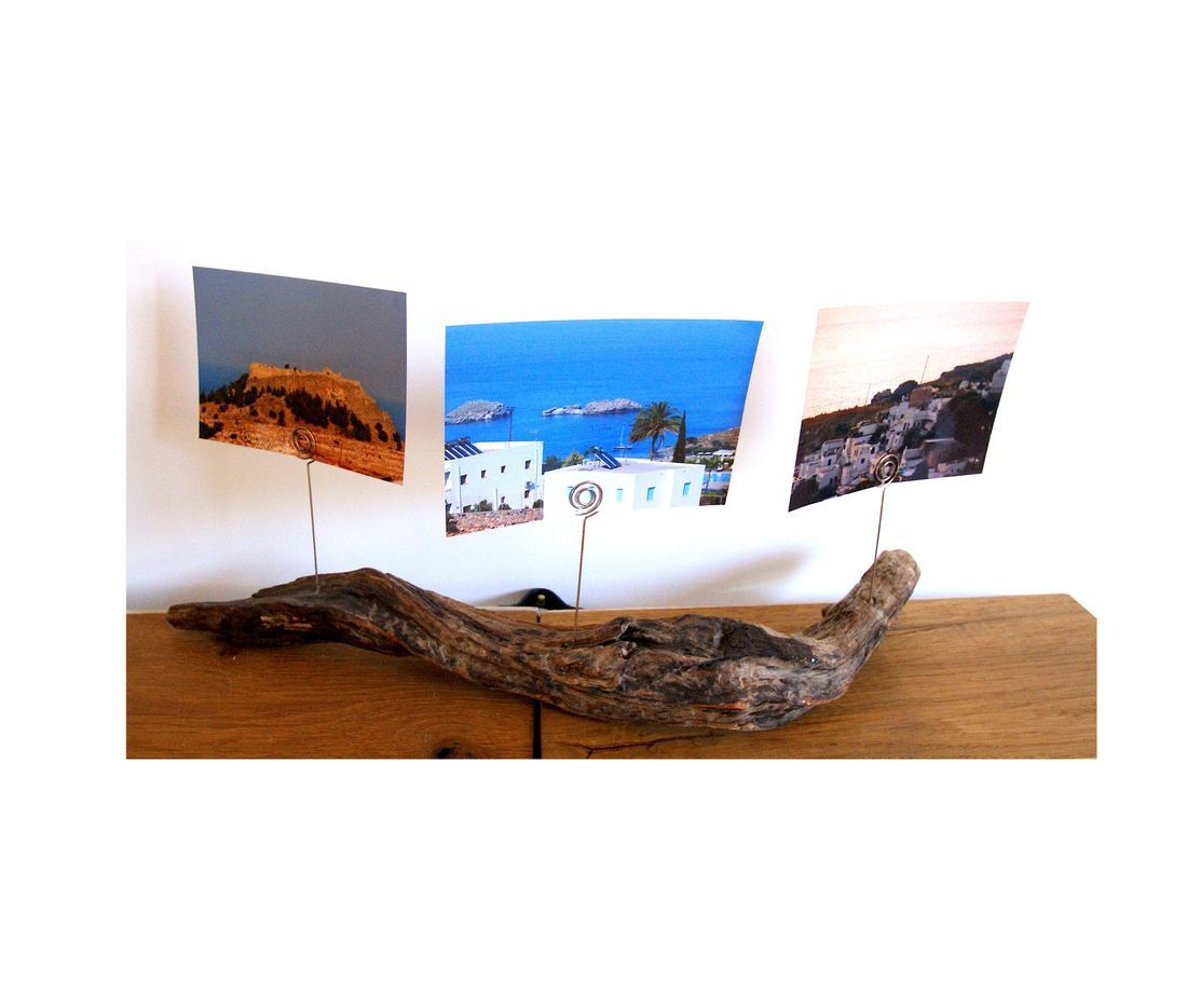 Driftwood Photo / picture frame holders