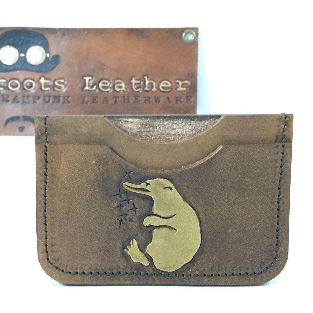 Double Slot Wallet Hello Niffler
