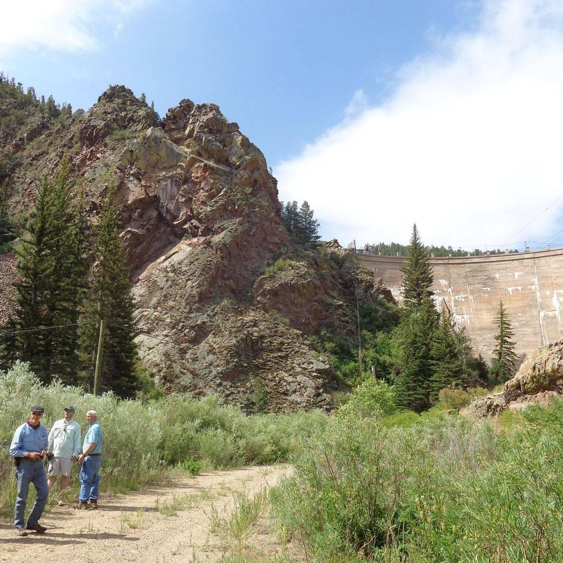 Eagle Nest Dam Tour