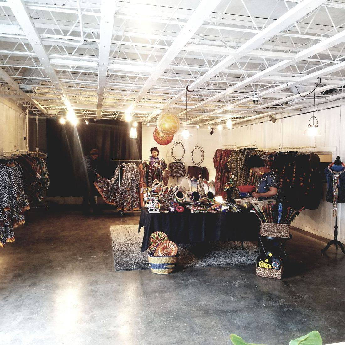 African Pop-Up Shop