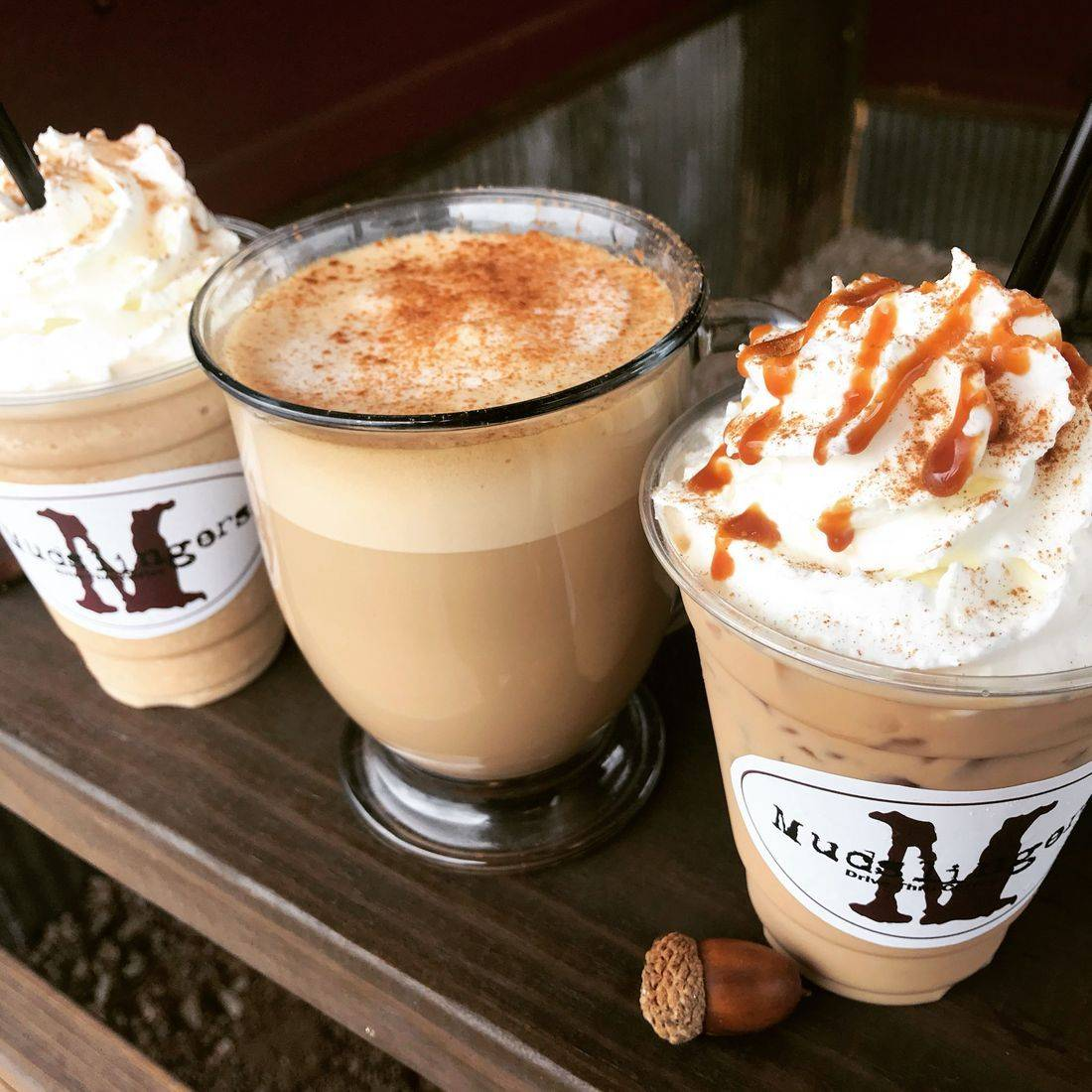 mudslingers drive thru coffee Atlanta tx texas  monthly special