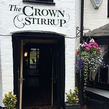 the crown stirrup front lyndhurst new forest pub