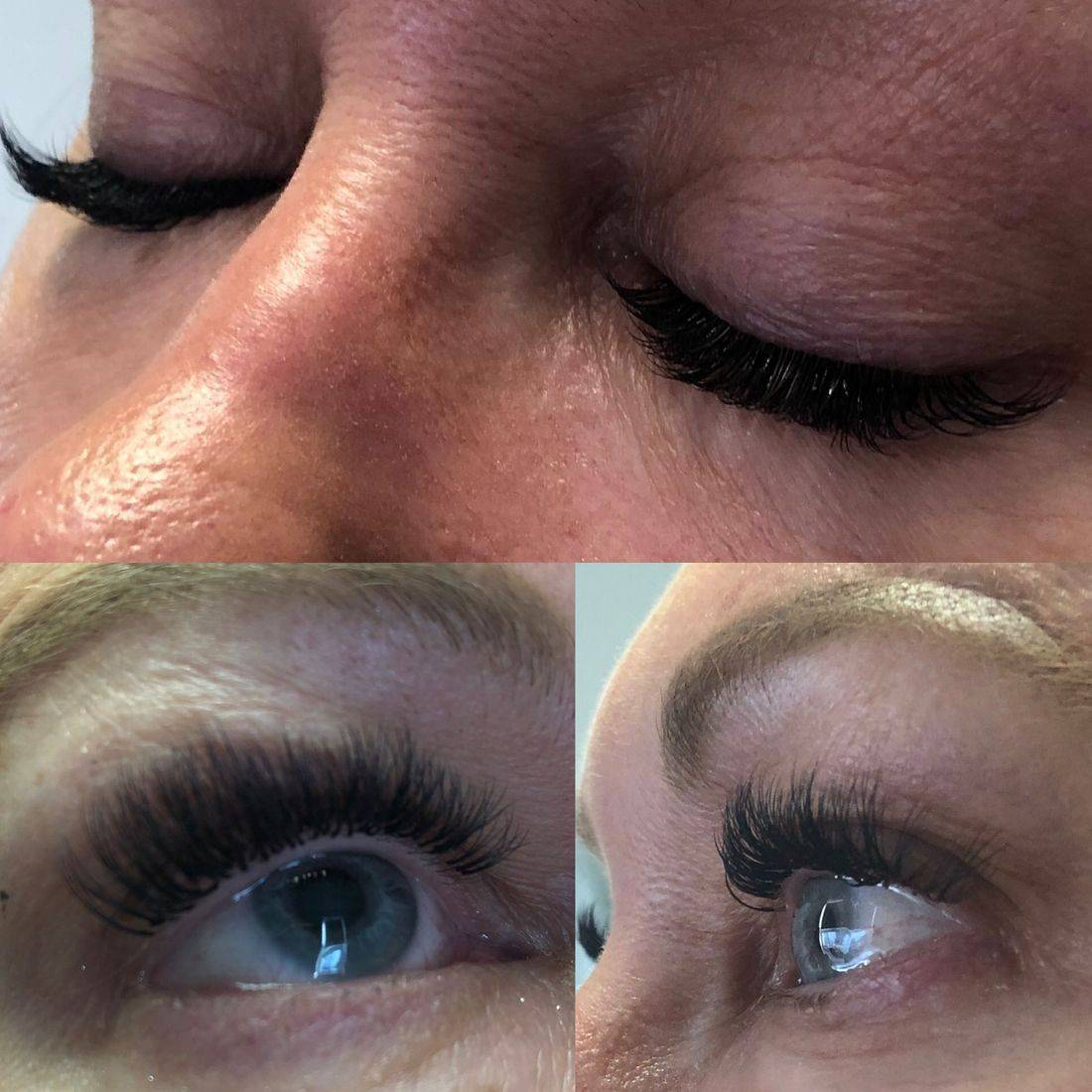 Russian Volume eyelash extensions in Marlow
