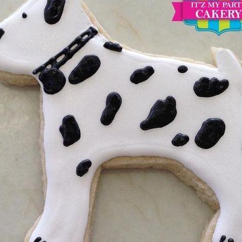 Dalmatian Dog Cookies Milwaukee