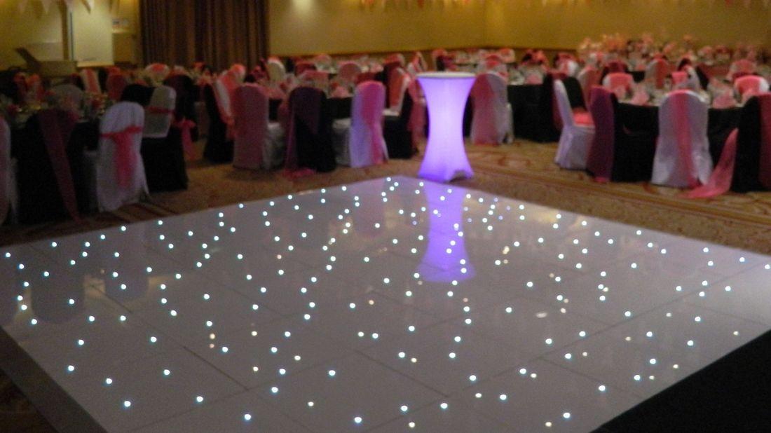 dance floor hire in Northamptonshire