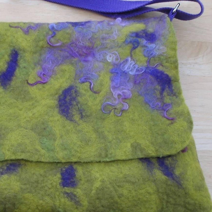 felt bags, textile design