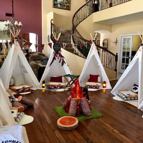 Kids party rentals, teepee rentals, kids party, kids parties, teepee birthday party, kids birthday party,  kids sleepover, kids glamping sleepover, party planner, kids party planner, Newport Beach, Orange County, CA