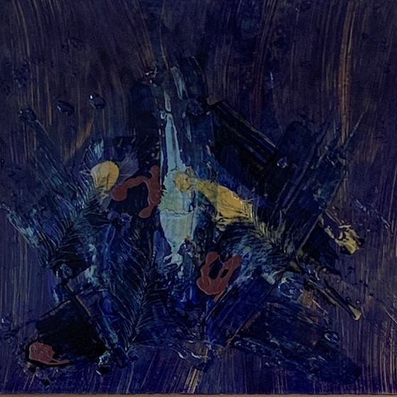 TPatton - Sedona Blue - Acrylics - 36x36 - $600