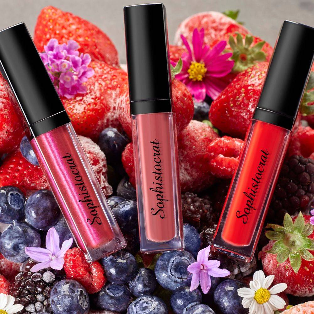 luxury matte liquid lipstick sophistocrat cosmetics