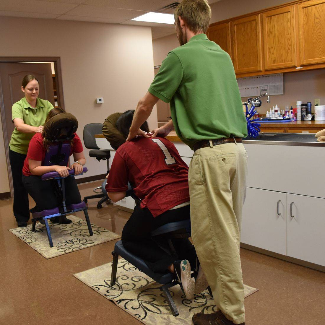 Chair Massage, Neuromuscular Therapy