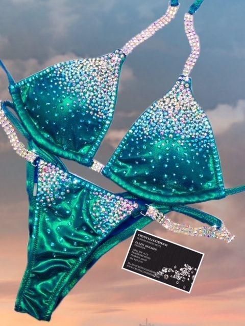 electric royal competition bikini