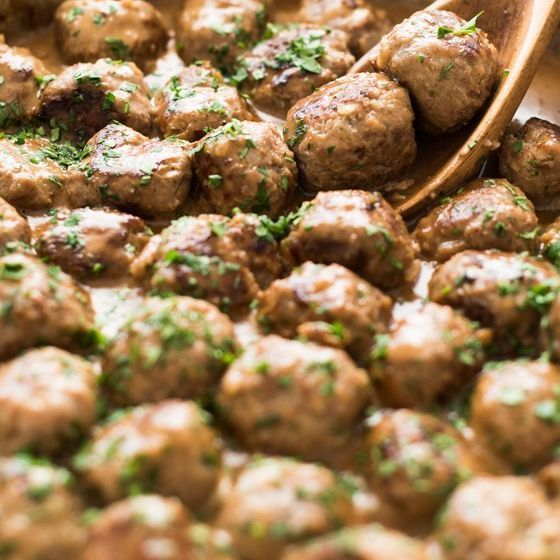 Swedish Meatballs Kottbullar