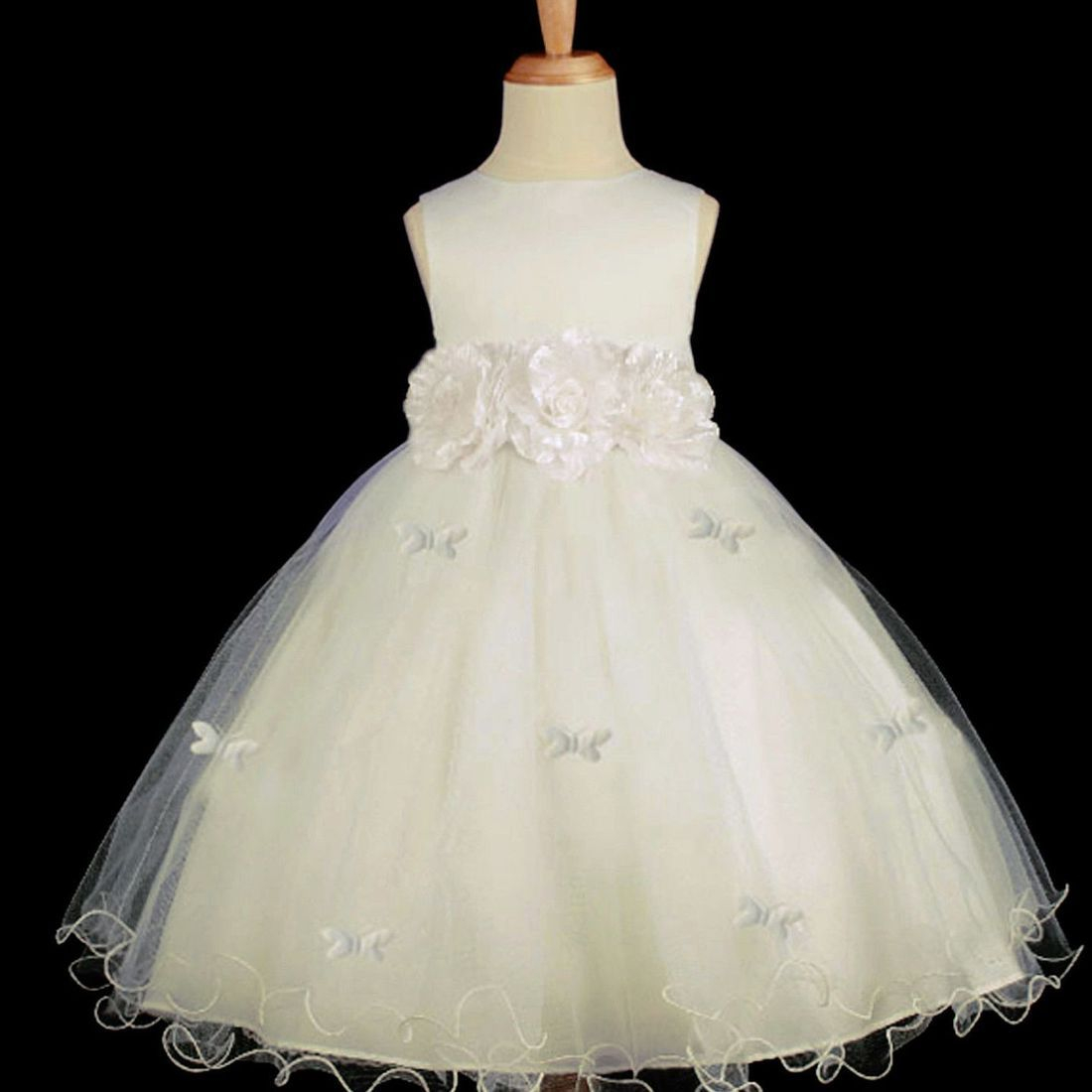 Off-the-peg flower girl dress