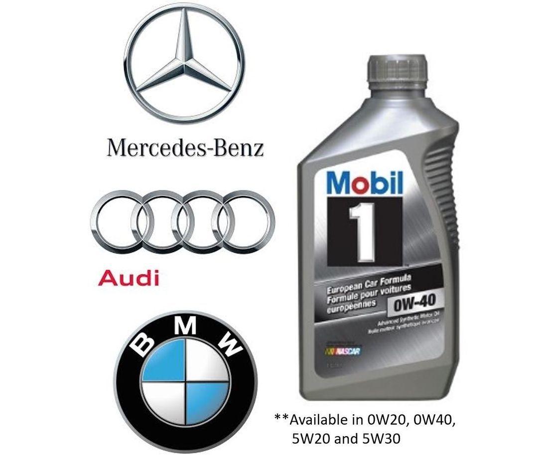 Mercedes Audi BMW Oil Change