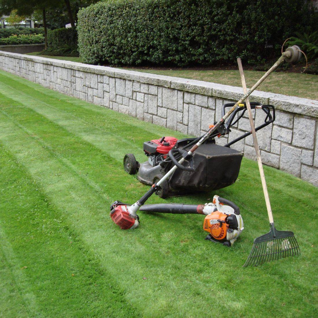 Mower Repair
