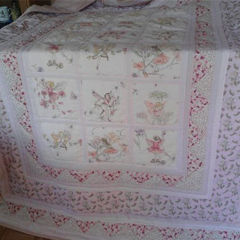 Jane Churchill Fabric Fairy Quilt
