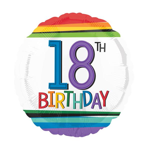 18th Birthday Foil