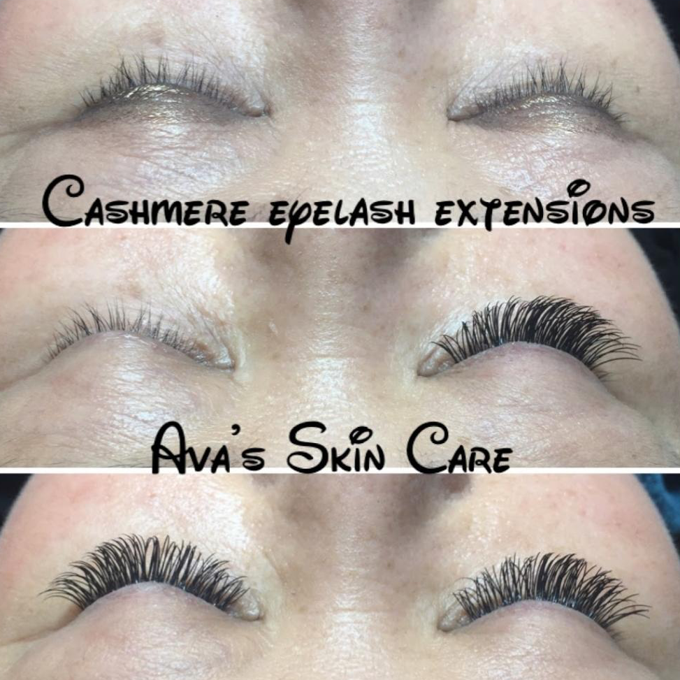 Cashmere Eyelash Extensions By Ava