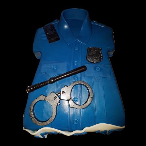Police Academy Graduation Cake