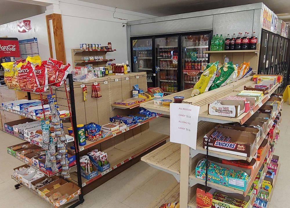 groceries, food, ice, beer, suppies, bait