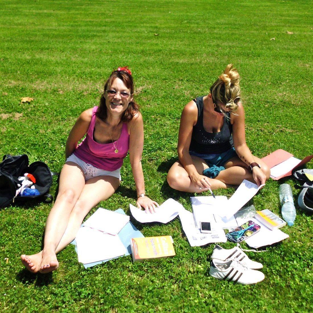 Students preparing for language degrees