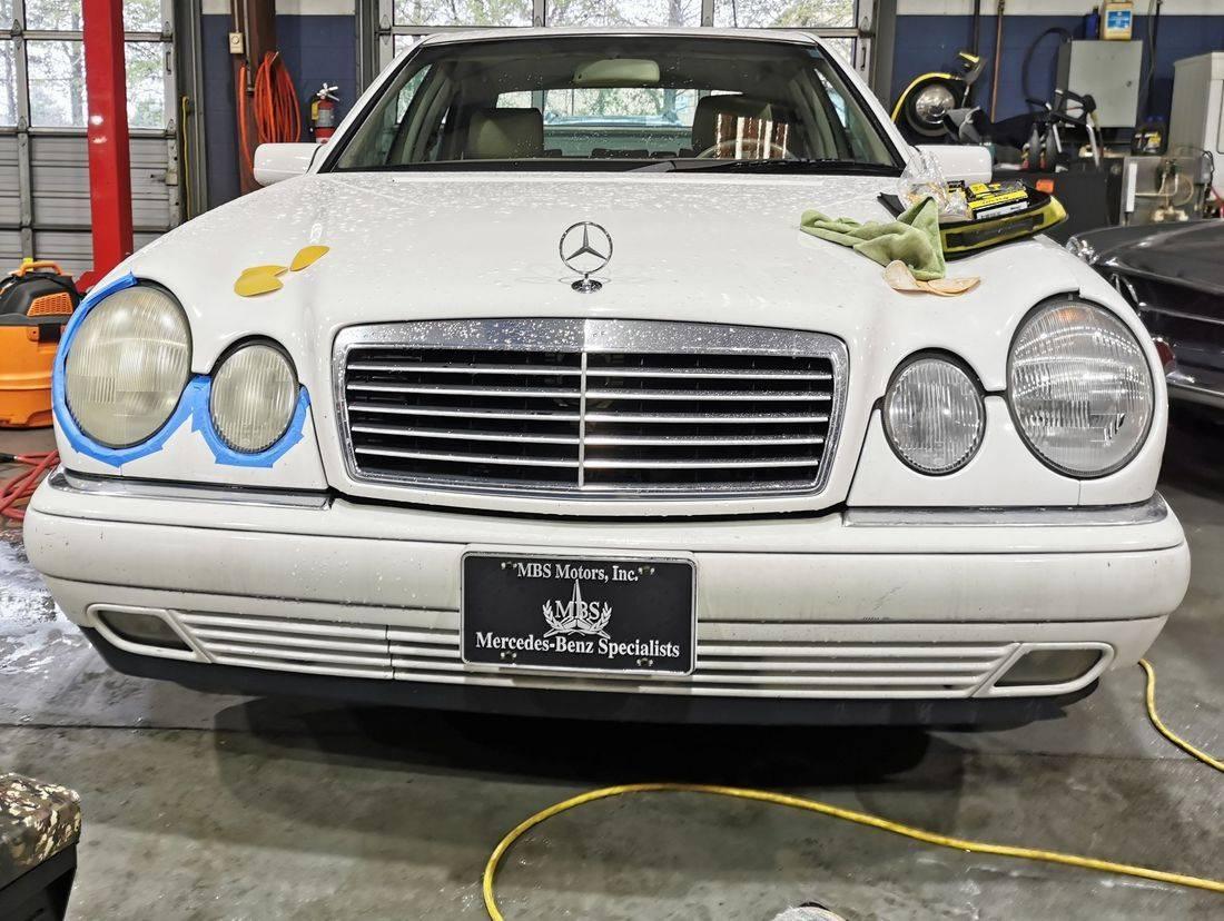 mobile car detailing, headlight restoration, Gwinnett Auto Appearance