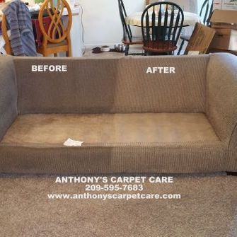 Upholstery Steam Cleaning Services, Modesto, CA