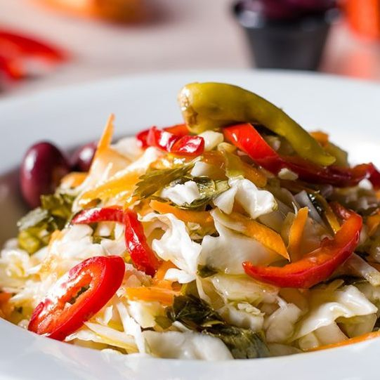 Pikantiki Salat Griechische